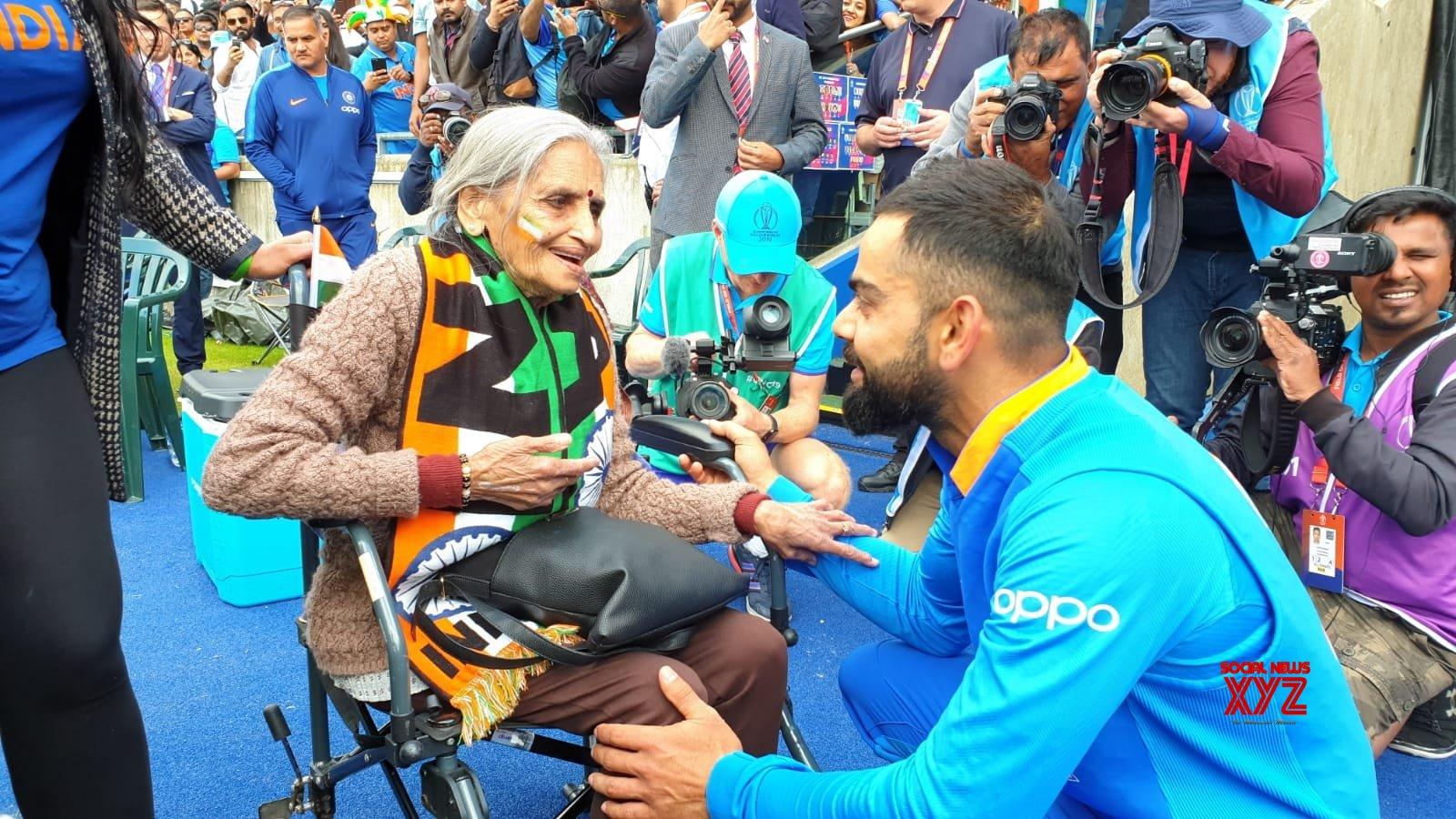 Team India's WC Superfan Charulata Patel passes away