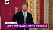 ShowBiz Minute: Prince Harry, Johnson, King (Video)