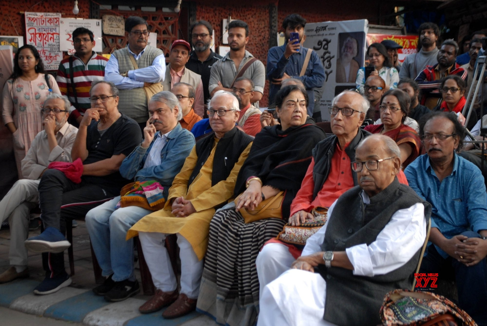 Kolkata: Theatre artistes protest against Communalism #Gallery