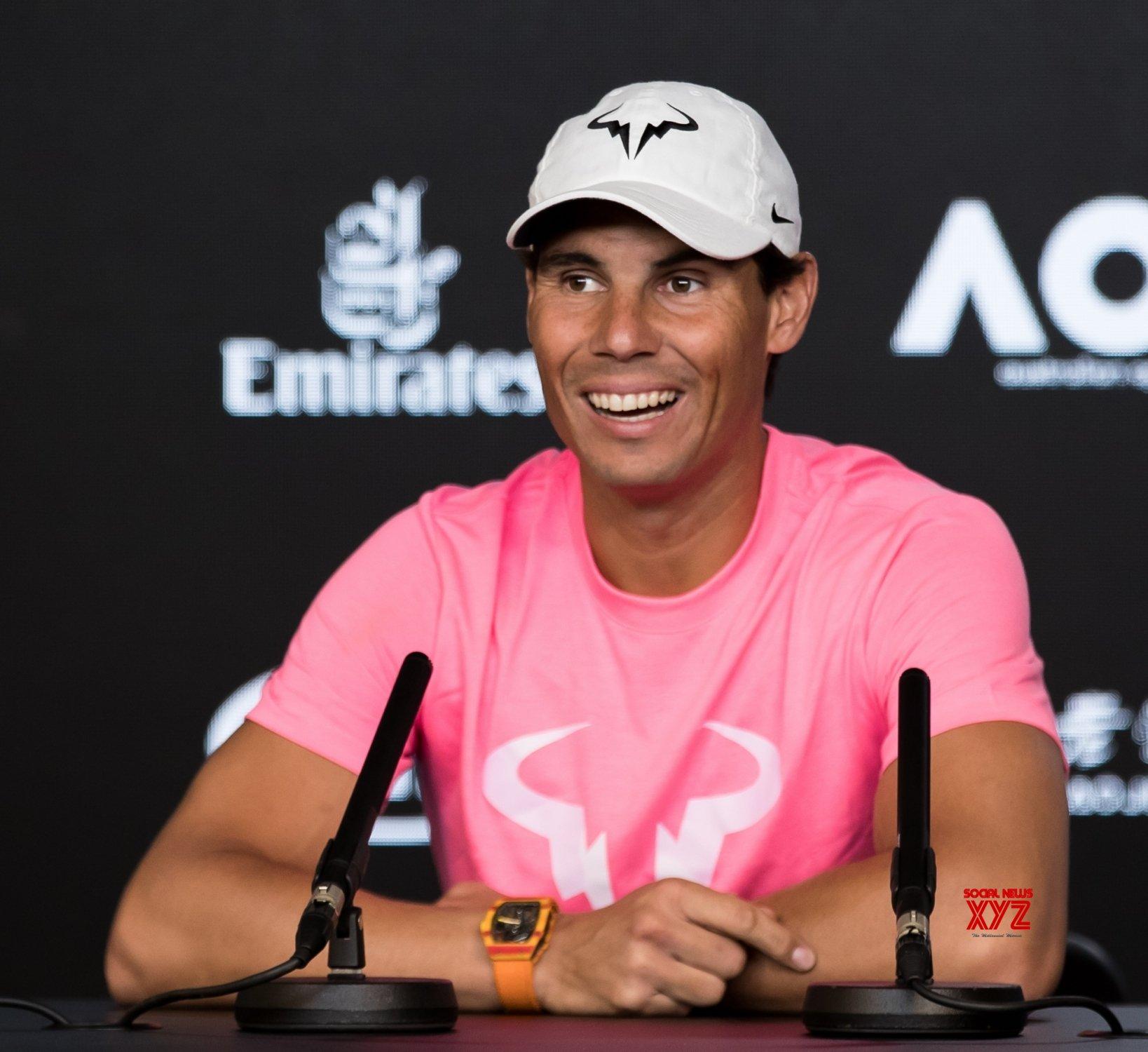 Australia Melbourne Tennis Australian Open Press