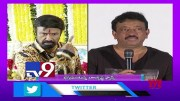 Balayya fans irked with RGV's tweet on Roja - Balakrishna selfie - TV9 (Video)