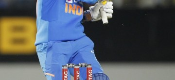 Auckland: Auckland: India's Navdeep Saini in action during the 2nd ODI of the three-match series between India and New Zealand at the Eden Park in Auckland,New Zealand on Feb 8, 2020.  (Photo: Surjeet Yadav/IANS)