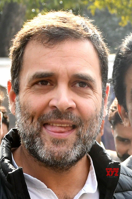 New Delhi: Budget Session - Rahul Gandhi at Parliament #Gallery