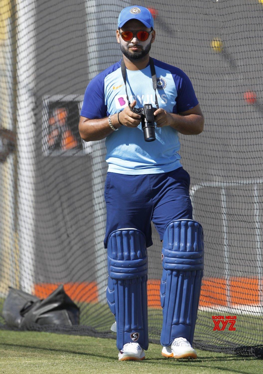 Tauranga (New Zealand): 3rd ODI - India Vs New Zealand - India practice session #Gallery