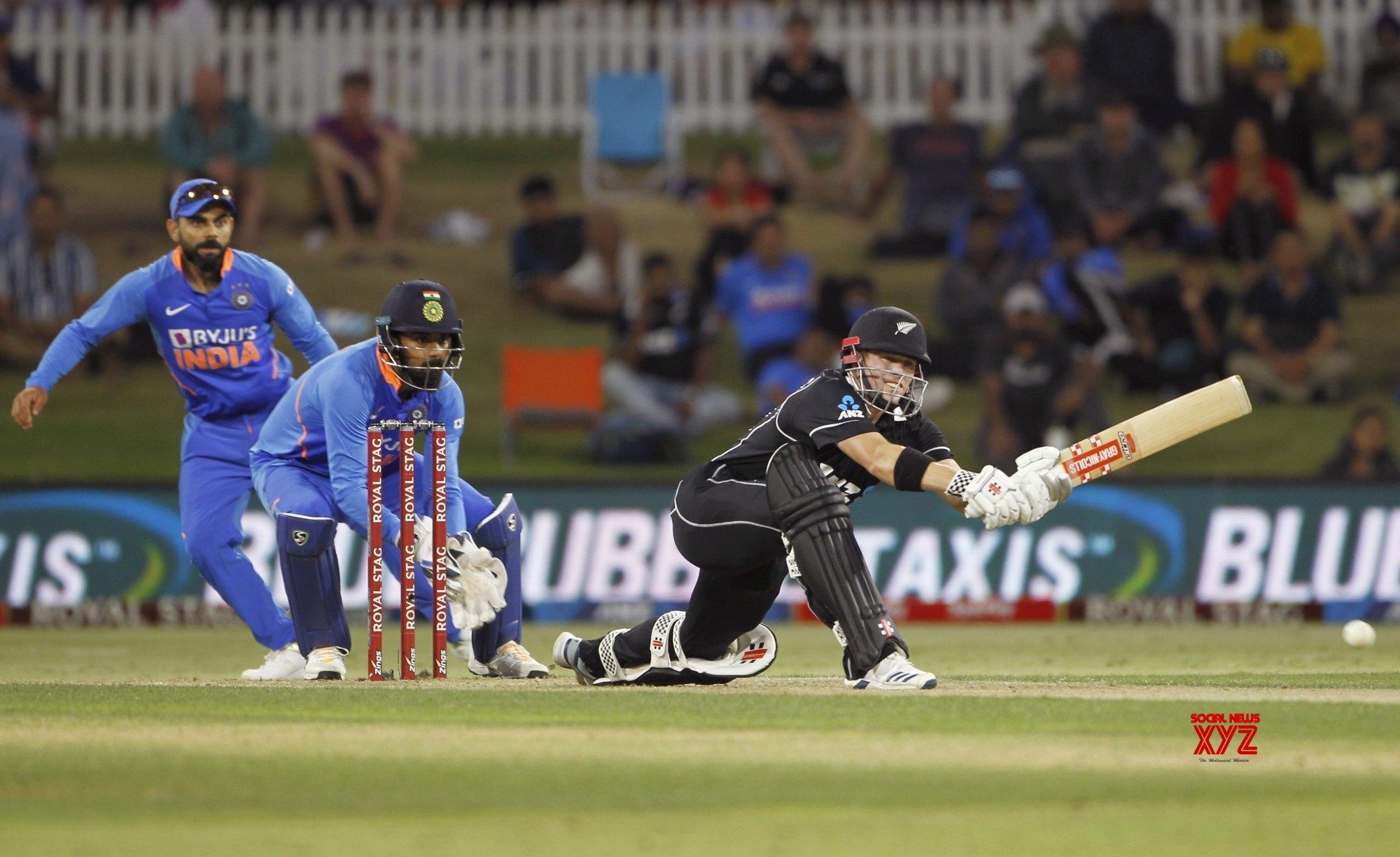 Mount Maunganui: 3rd ODI - India Vs New Zealand (Batch - 9) #Gallery