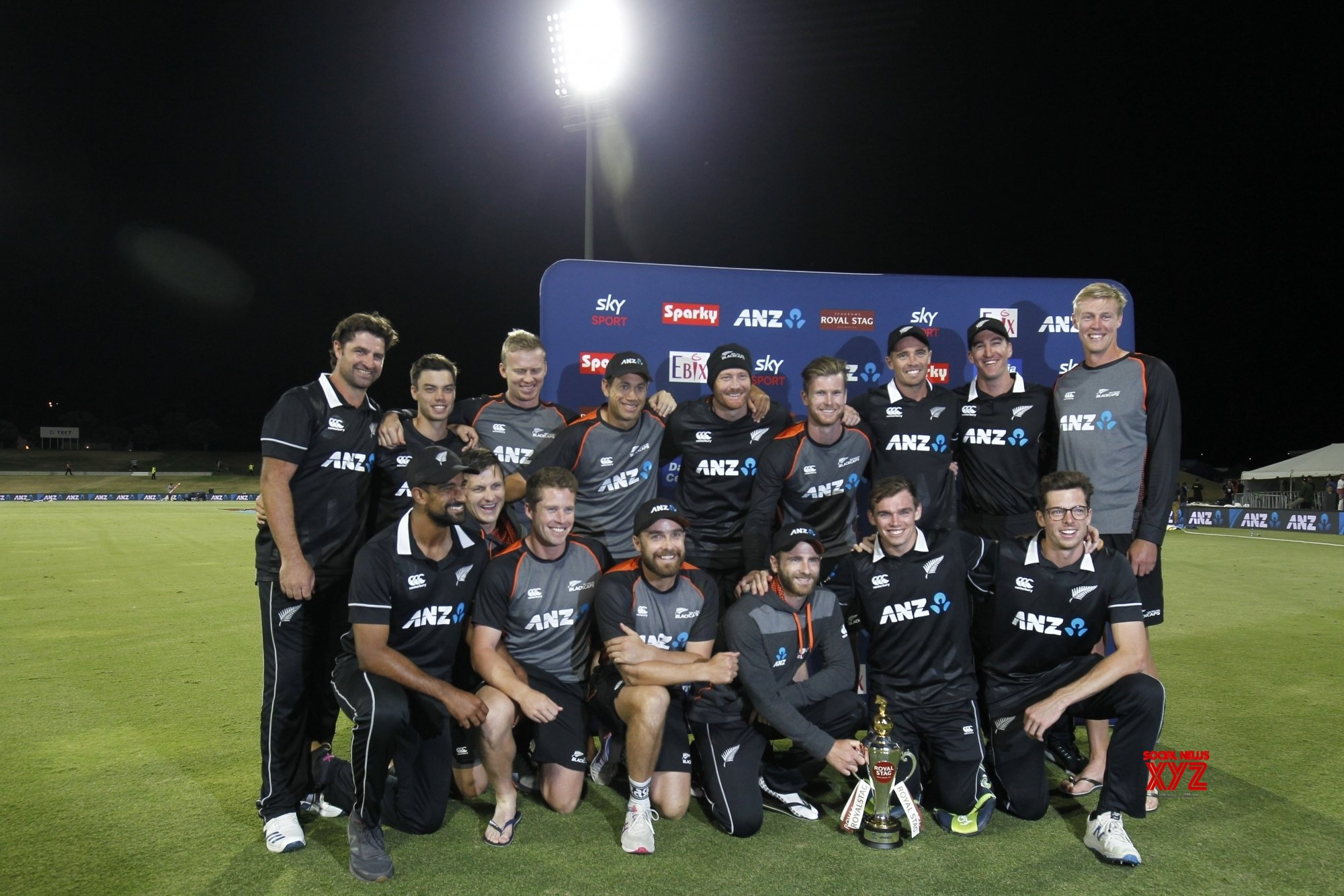 Mount Maunganui: 3rd ODI - India Vs New Zealand (Batch - 13) #Gallery