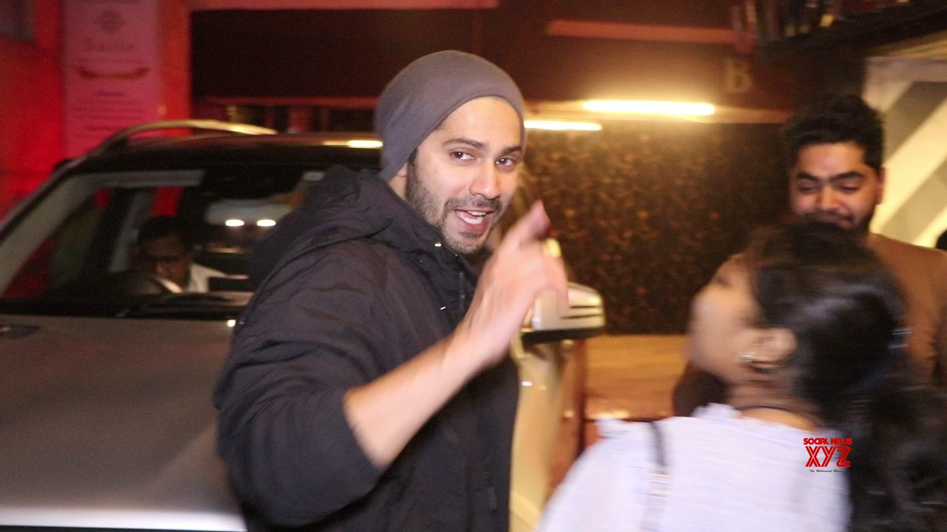 Varun Dhawan Spotted At Gym Juhu - Gallery