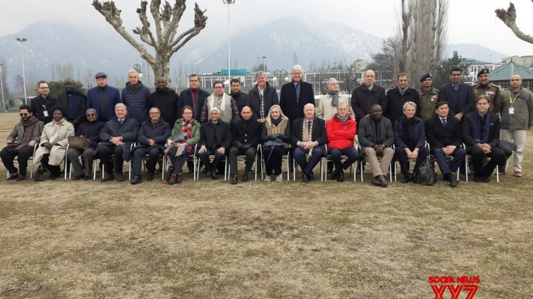 Kashmir: Foreign envoys satisfied with restoration of normalcy
