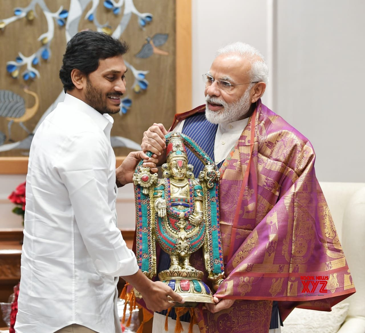 Andhra CM YS Jagan Met With The Prime Minister Narendra Modi At His Residence In New Delhi - Gallery