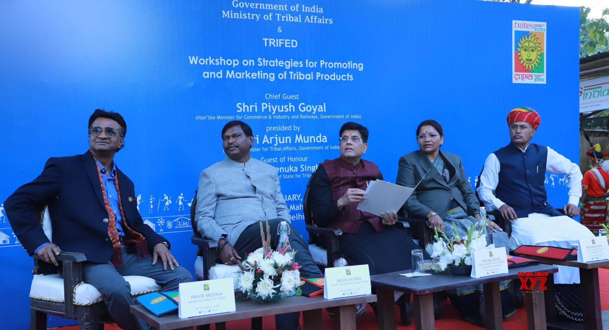 New Delhi: Workshop on Strategies for promoting and marketing of Tribal products #Gallery