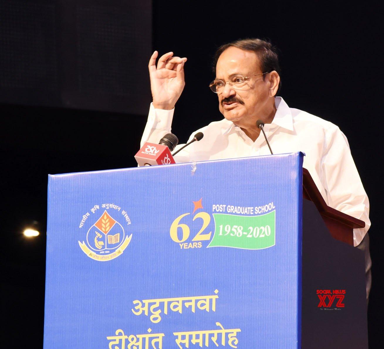 New Delhi: Venkaiah Naidu at 58th Convocation of IARI #Gallery