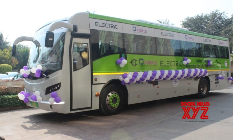 Mumbai: Nitin Gadkari flags off first ever electric Mumbai - Pune Intercity bus #Gallery