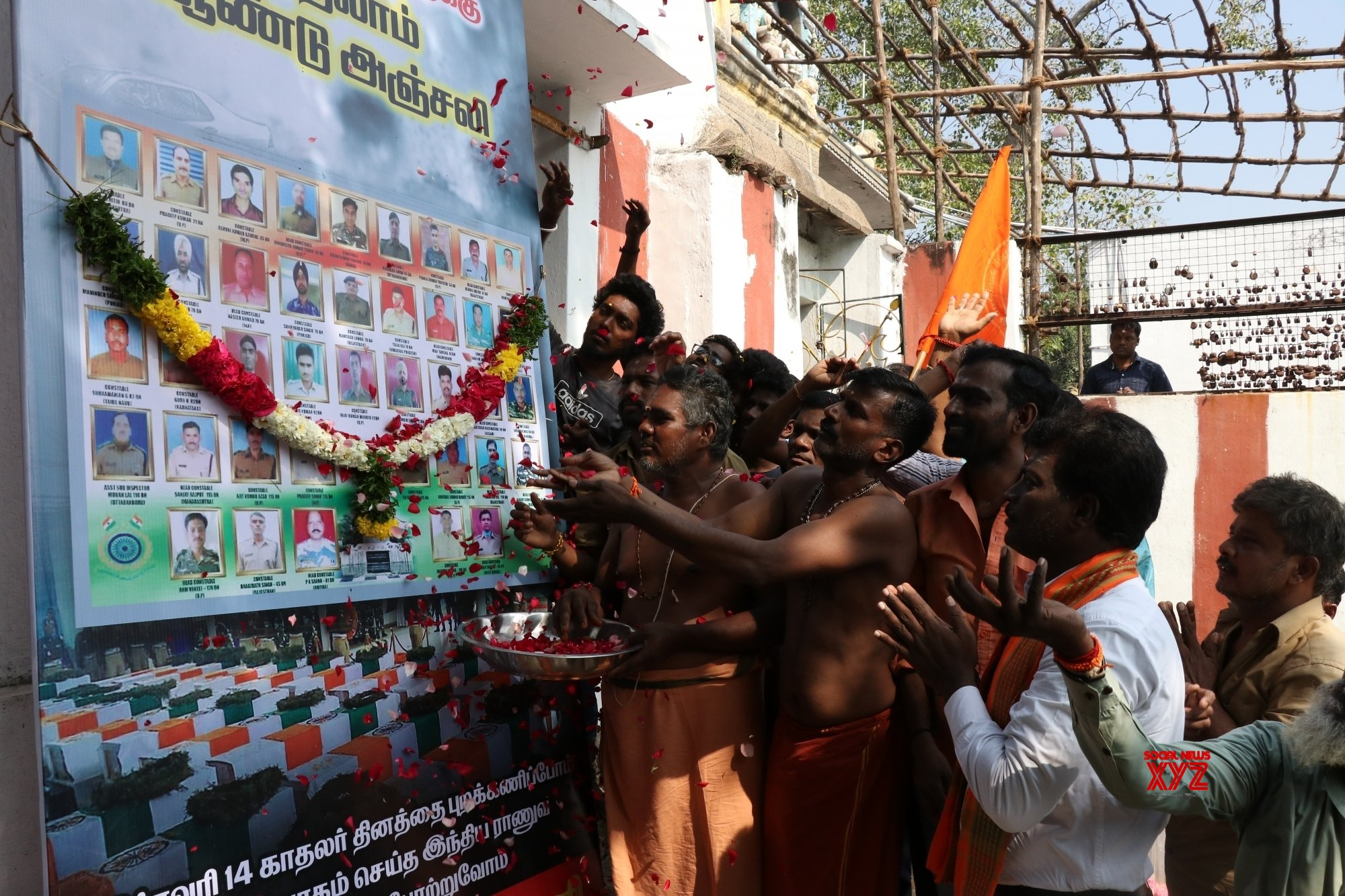Chennai: Tributes paid to Pulwama martyrs #Gallery