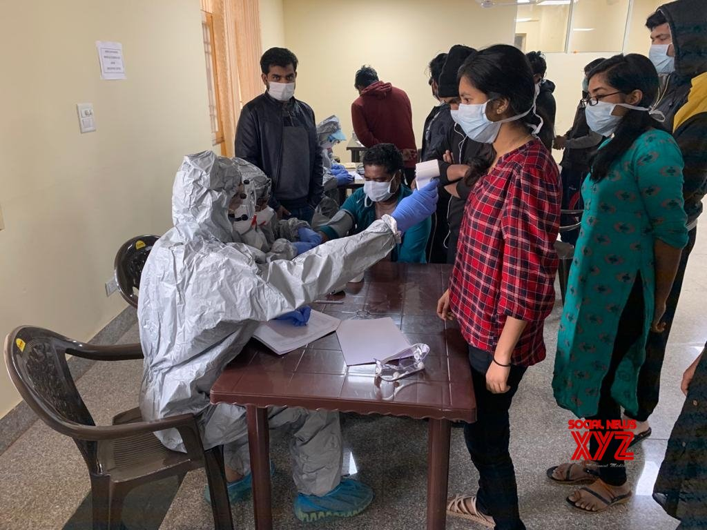 New Delhi: 406 people who arrived from Wuhan undergo coronavirus tests at ITBP Quarantine facility #Gallery
