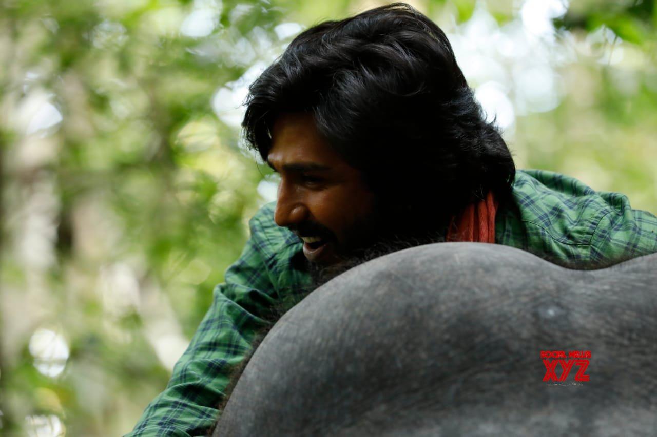 Vishnu Vishal Stills From Kaadan Aka Aranya Movie