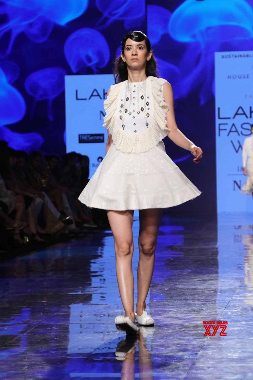 Mumbai: Siddharth walks for 'House Of Three X Tantajo' at Lakme Fashion Week #Gallery