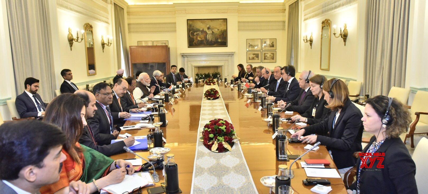 New Delhi: India - Portugal delegation level talks #Gallery