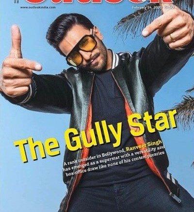 Ranveer Singh On Outlook Cover