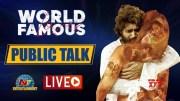 World Famous Lover Public Response LIVE (Video)