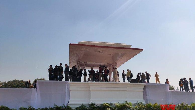 Preparations in full swing at Ramlila Maidan