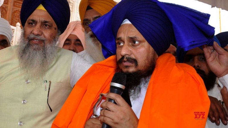 Akal Takht supports protesting Muslims on CAA