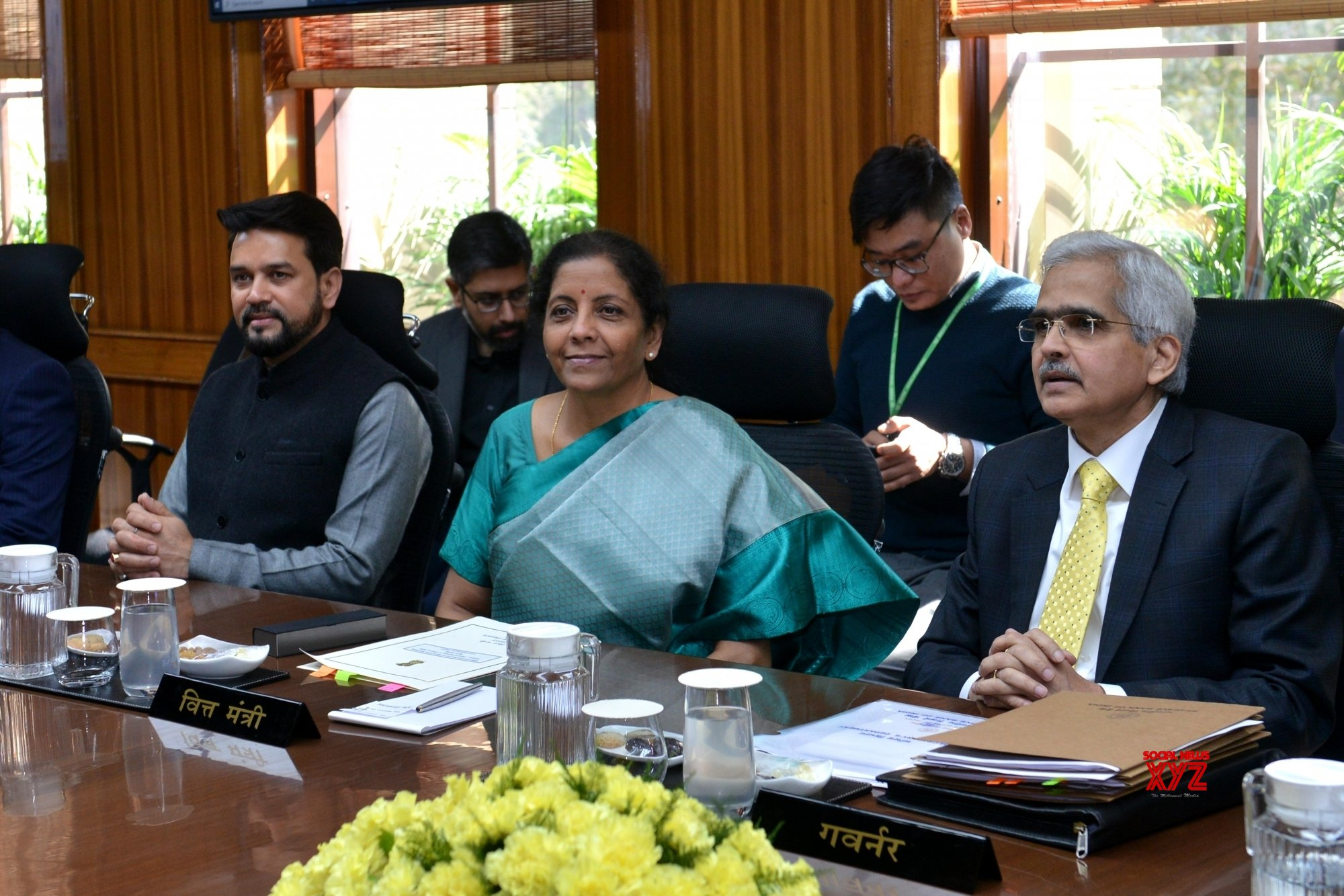 New Delhi: Meeting of Central Board of Directors of RBI - Nirmala Sitharaman (Batch - 2) #Gallery