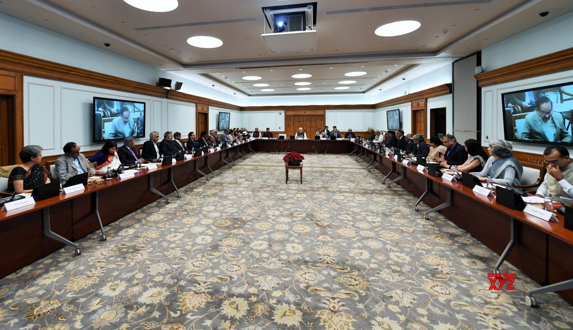 New Delhi: CSIR Society meeting - PM Modi #Gallery