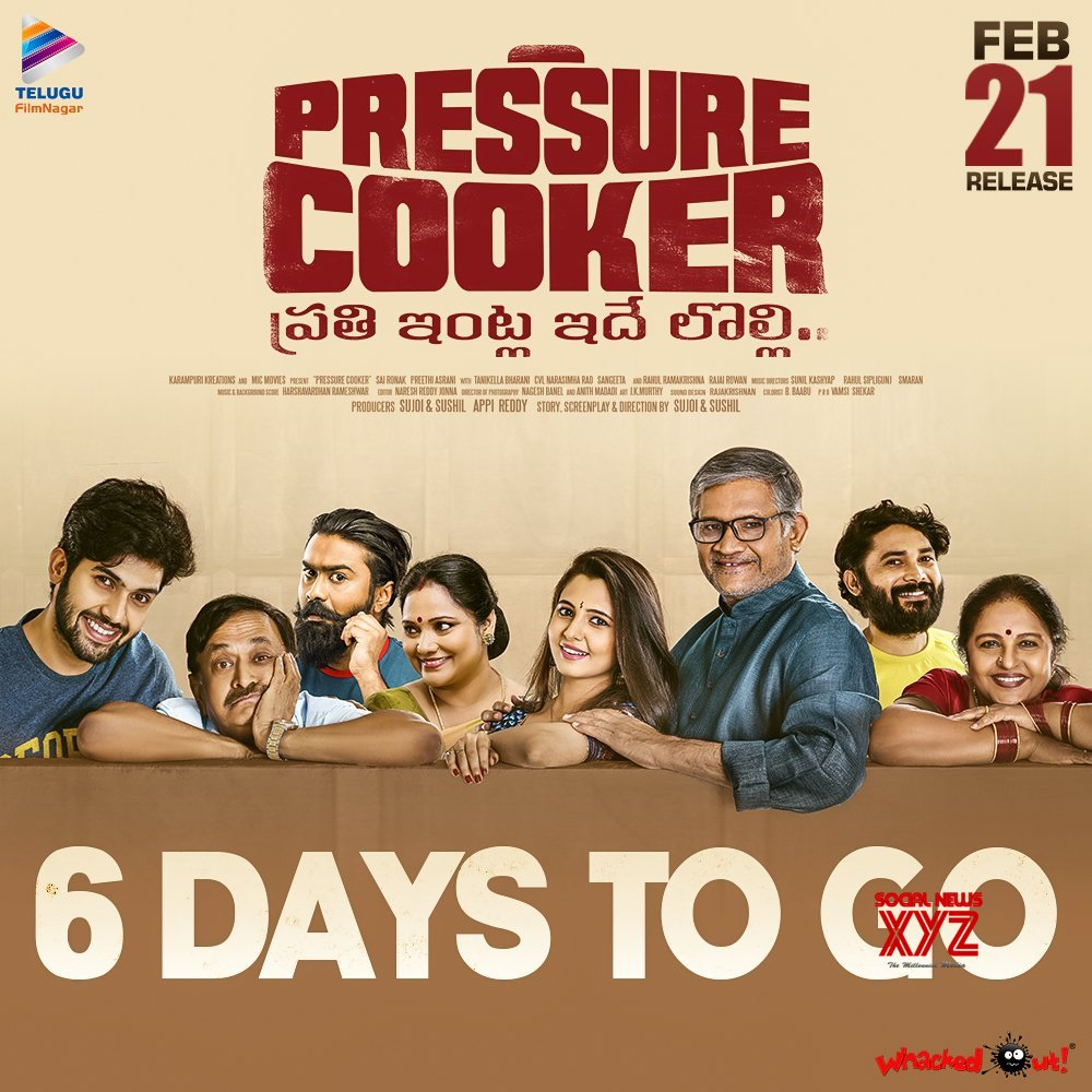 Pressure Cooker Movie 6 Days To Go Poster