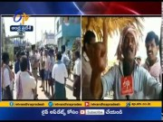 Sand Dispute | Farmers Serious on Police | Over no Permissions for Transport | in Nathavaram  (Video)