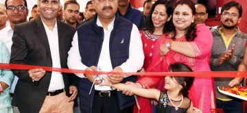 Patna: Bihar Health Minister Mangal Pandey at the inauguration of a fertility and IVF Center in Patna on Feb 18, 2020. (Photo: IANS)