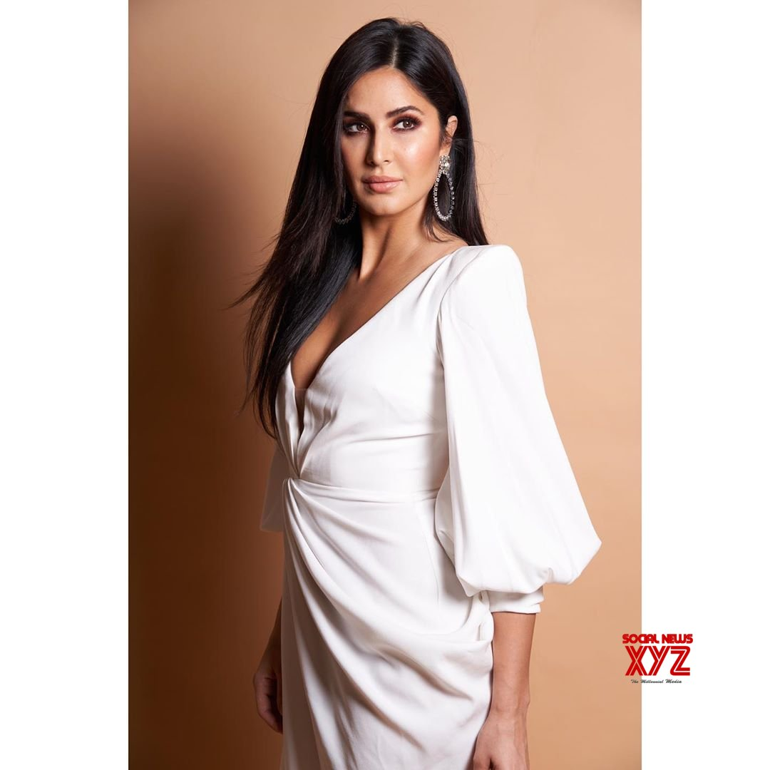 Actress Katrina Kaif Glamour Stills From Nykaa Femina ...