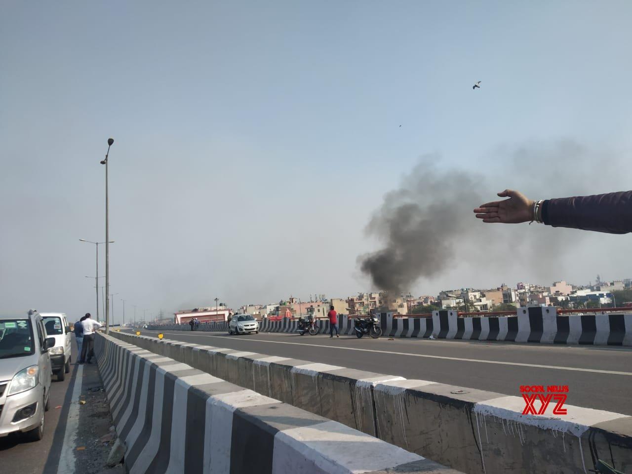 New Delhi: Protesters go on rampage in Bhajanpura - Yamuna Vihar area #Gallery