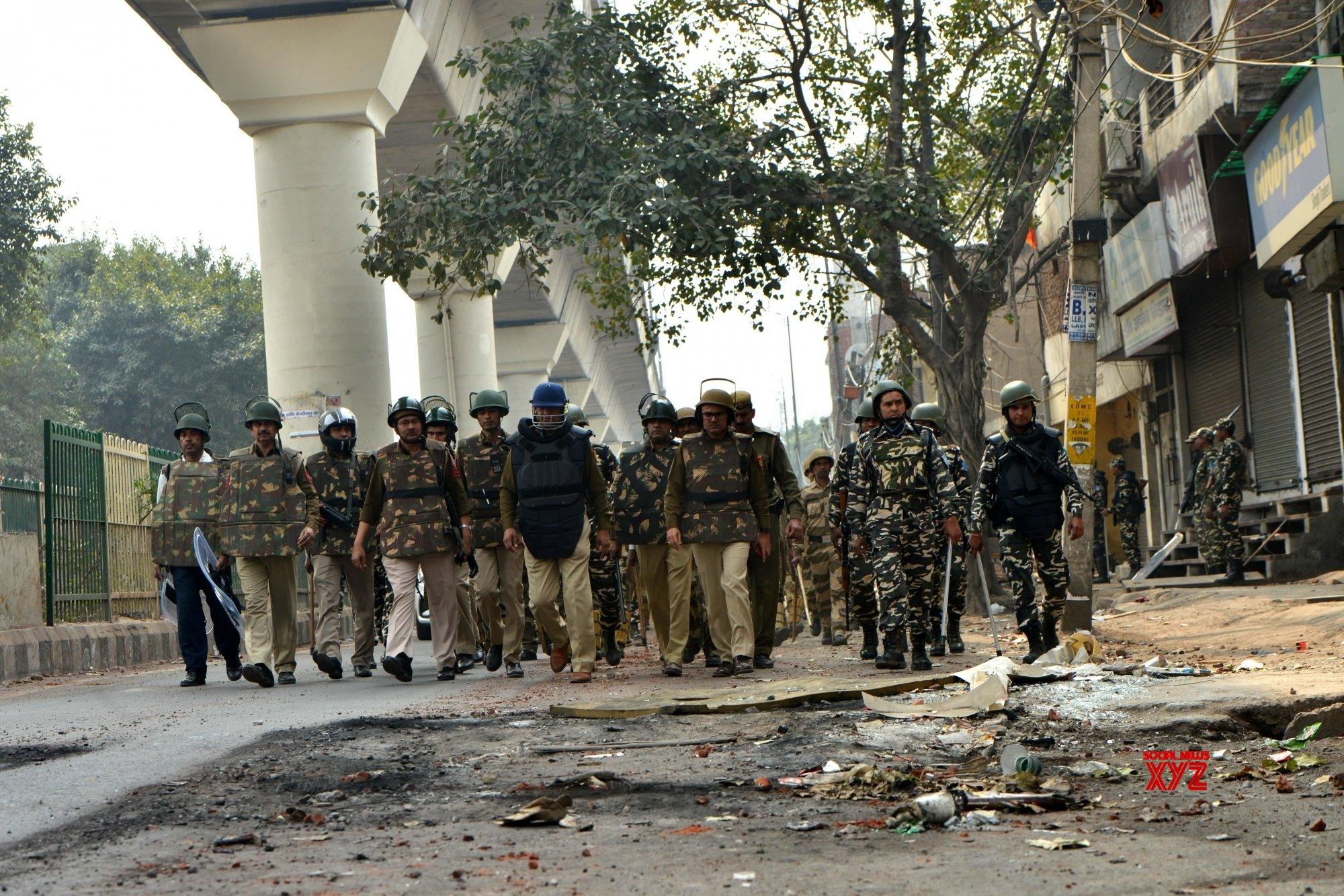 Delhi violence: 113 companies of CAPF, DP on ground zero