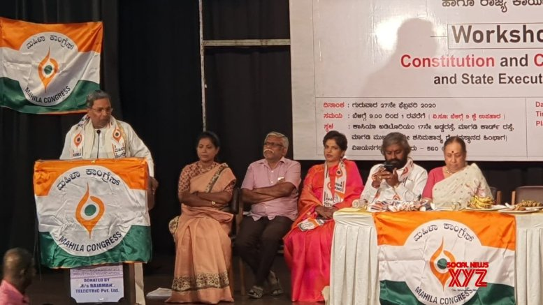 Democracy, Constitution not safe under BJP: Siddaramaiah