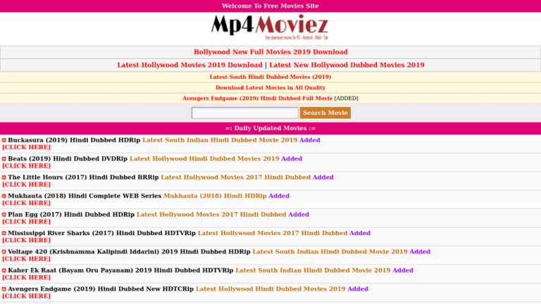 Mp4moviez - Download Mp4 Online Bollywood, Hollywood Movies & TV Shows