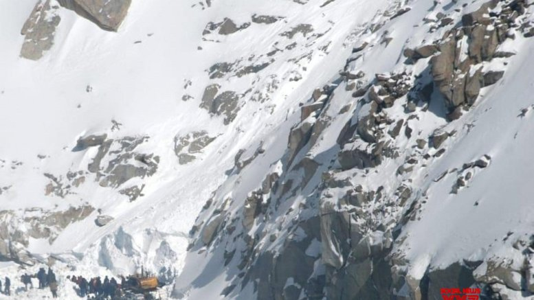 Avalanche warning issued for higher reaches in J&K