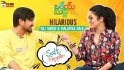 Raj Tarun and Malavika Nair Make Fun of Each Other (Video)