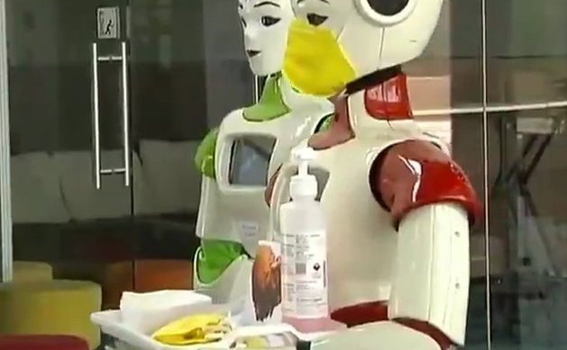 SMS Hospital brings in robots to serve COVID-19 patients