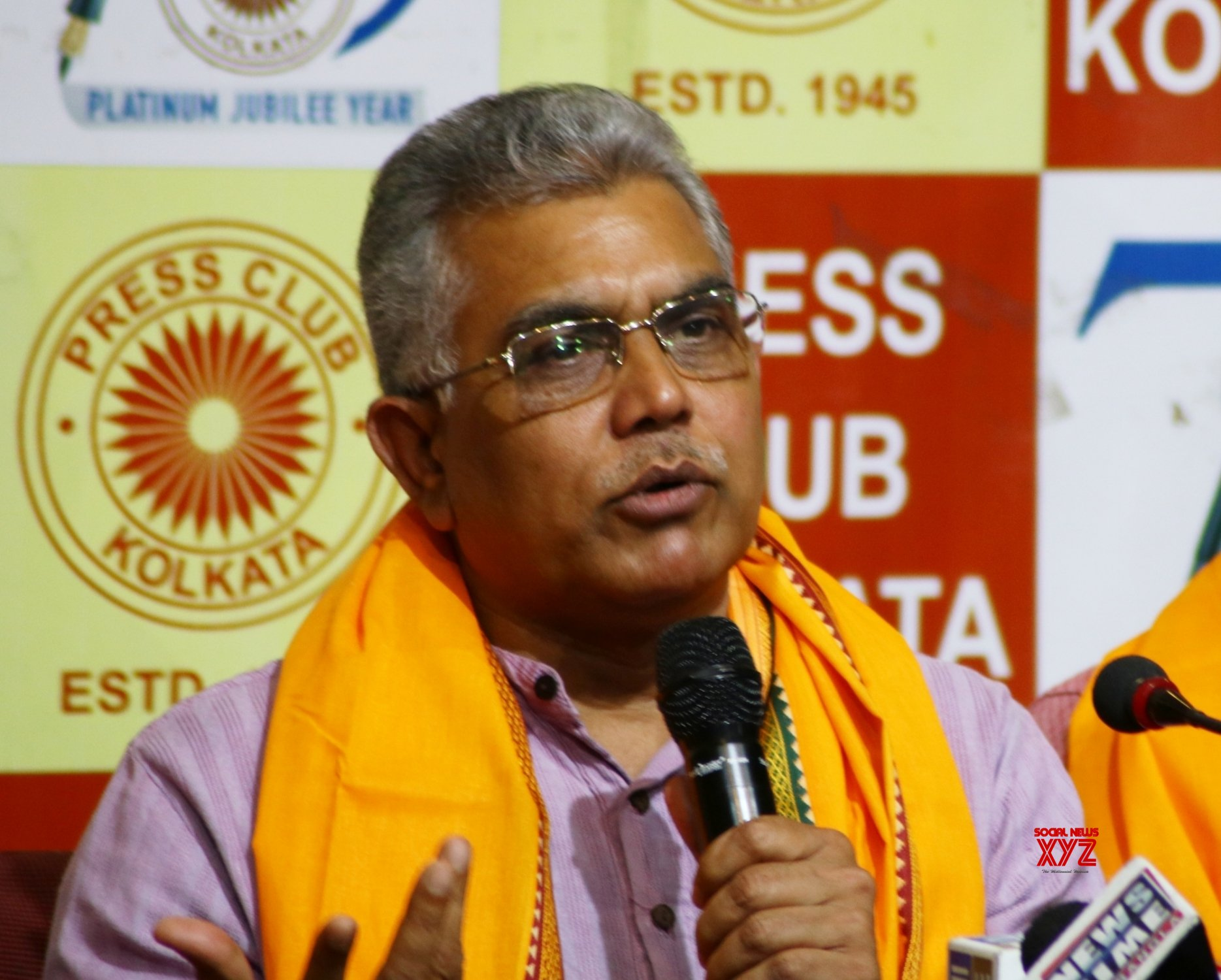 Kolkata: Dilip Ghosh at the launch of his website #Gallery