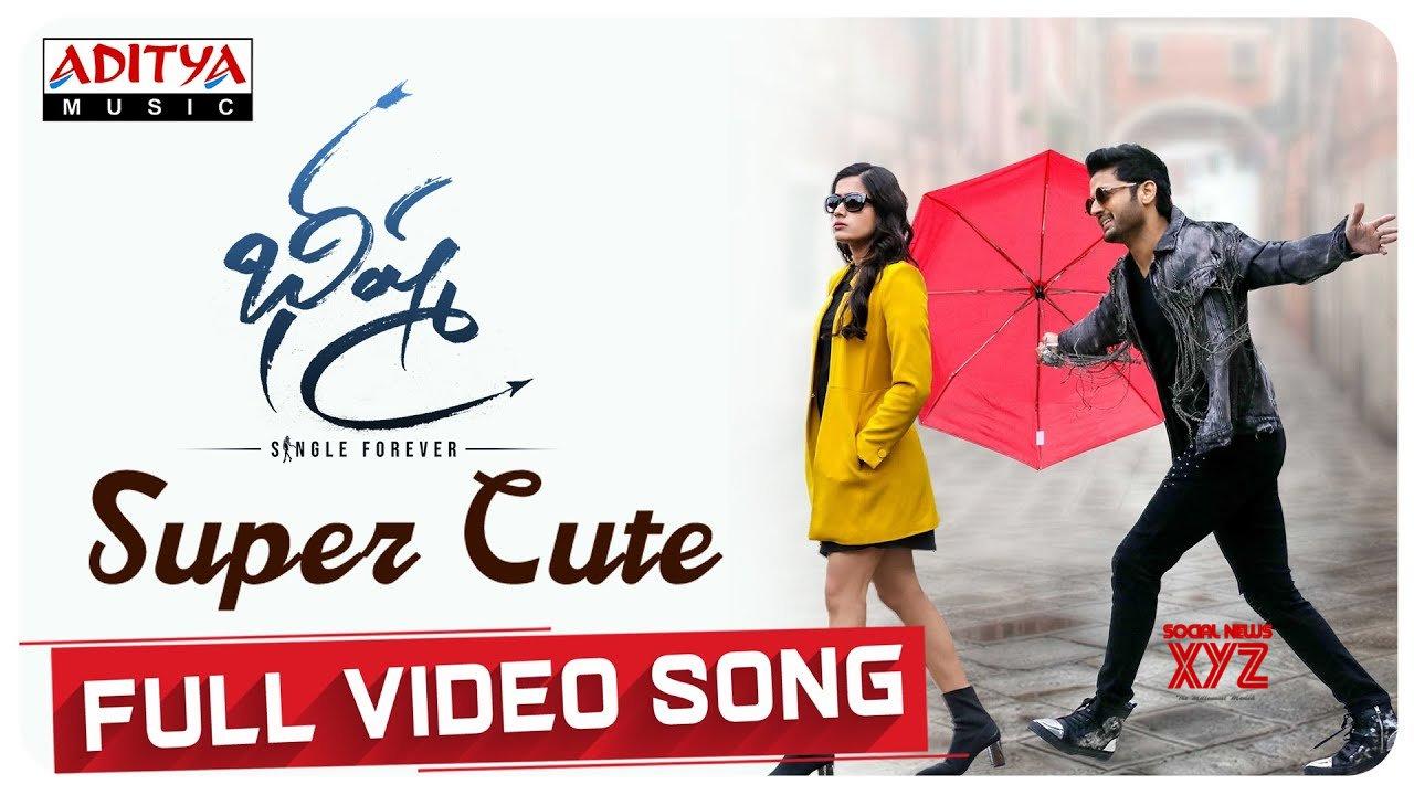 Super Cute Full Video Song Bheeshma Movie Nithiin Rashmika Venky Kudumula Mahati Swara Sagar Hd Video Social News Xyz