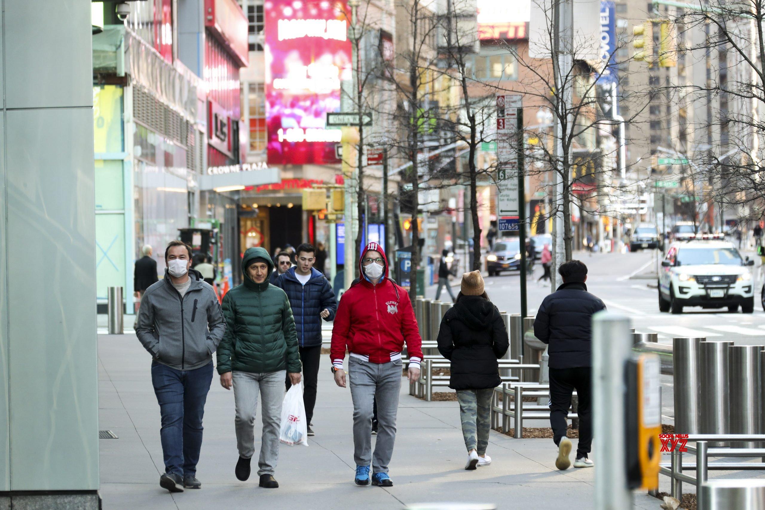 New York Governor Says Social Distancing Slowing Coronavirus