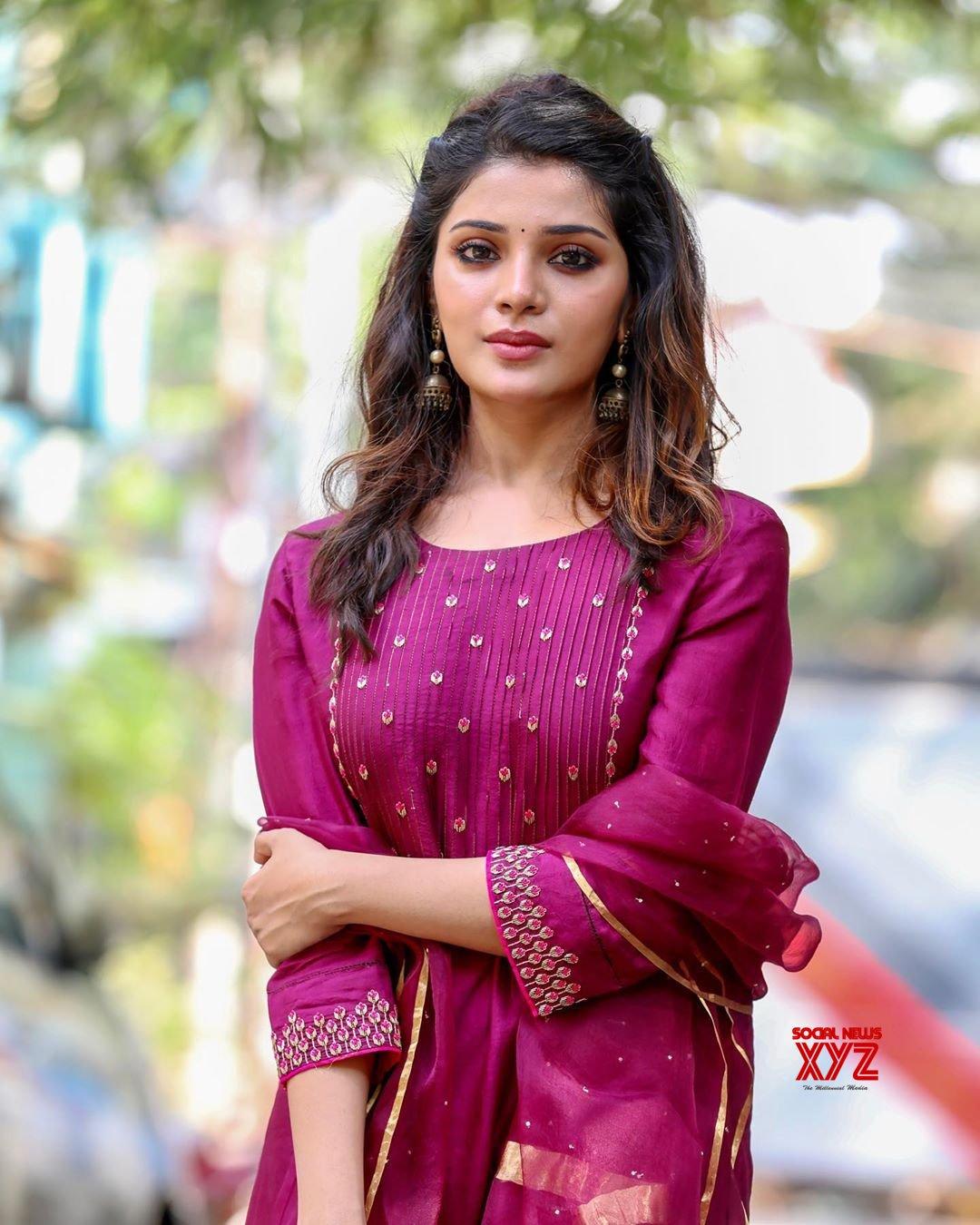 Actress Aathmika Latest Stills