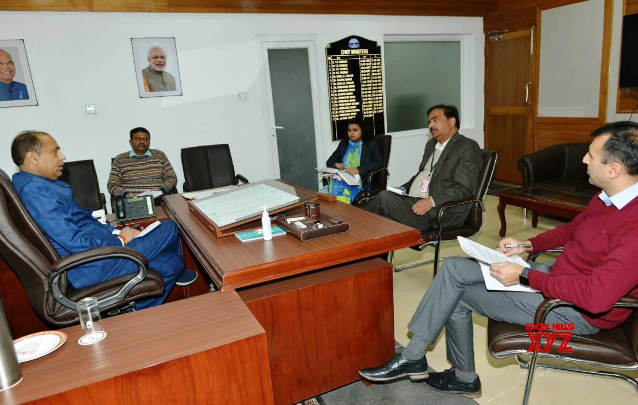 Shimla: Himachal CM chairs meeting to review supply of essential commodities across the state #Gallery