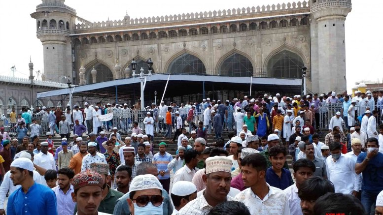 Only five worshippers to be allowed in Telangana mosques