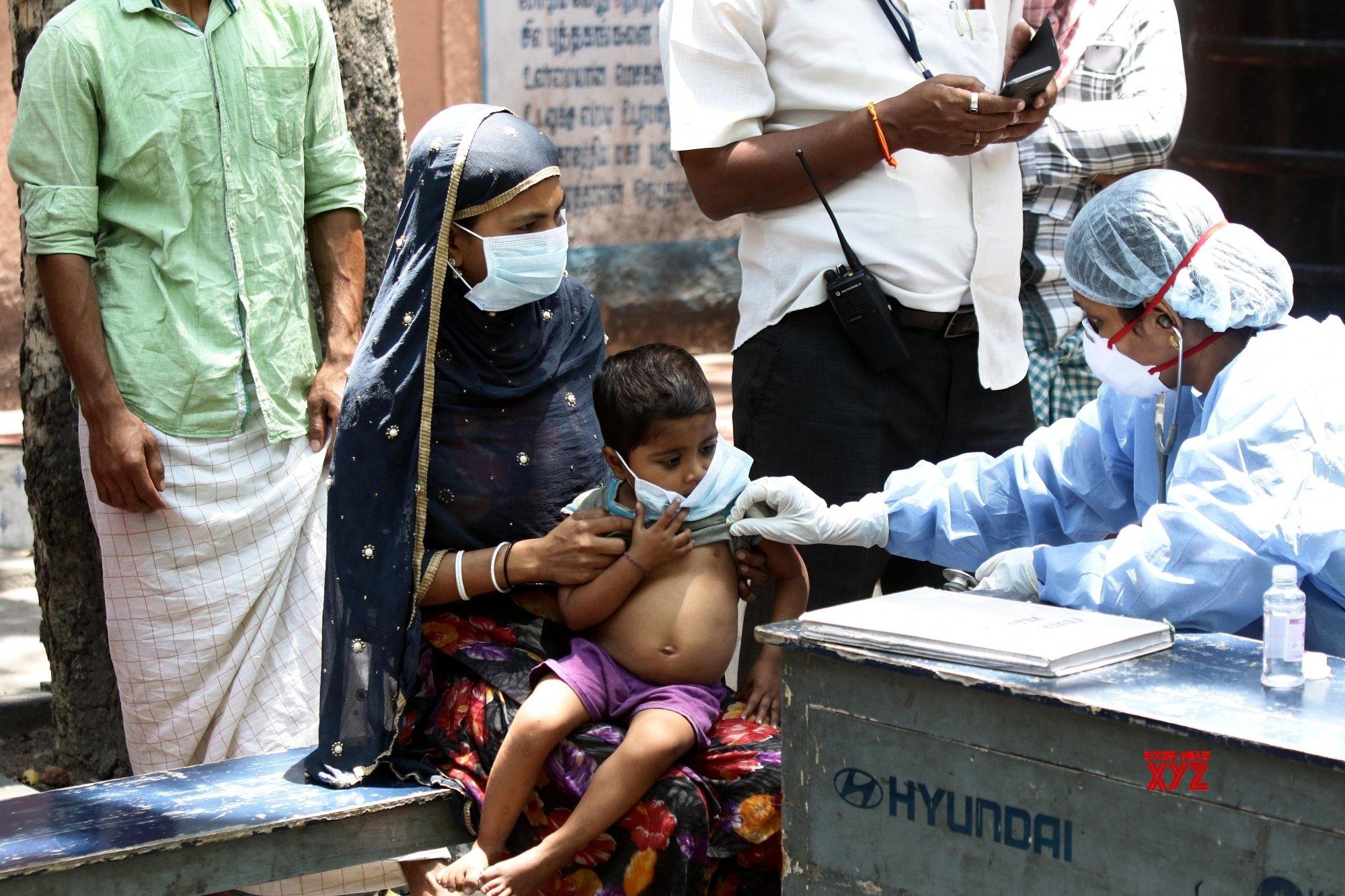 Chennai: Migrants screened for COVID - 19 amd lockdown #Gallery