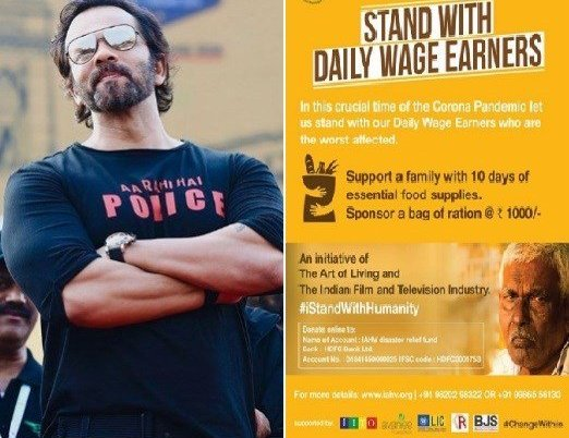 Rohit Shetty Urge People To Support I Stand With Humanity