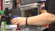 Groceries installing barriers amid virus outbreak (Video)