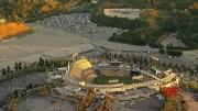 Unused rental cars parked at baseball stadiums (Video)