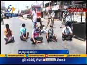 Police Lathicharge on Journalists at Hanuman Junction  (Video)