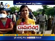 Hundreds of Students Leaving Hyderabad Stopped At Border Checkpost  (Video)